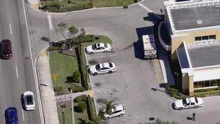 Vehicle burglarized outside TD Bank branch in Margate