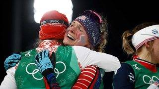 How Jessie Diggins' star was born in PyeongChang