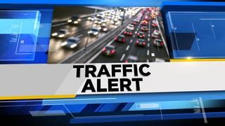 Westbound M-14 closed at I-275 due to crash