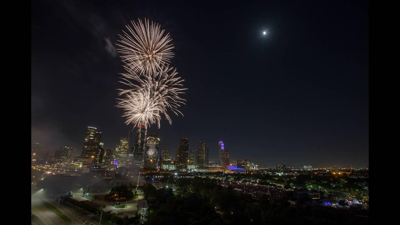 CITGO Freedom Over Texas fireworks