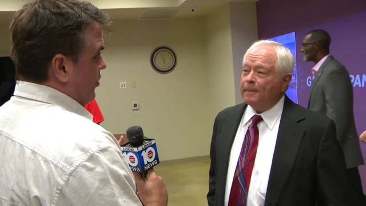 Bob Norman interviews Pompano Beach City Manager Greg Harrison