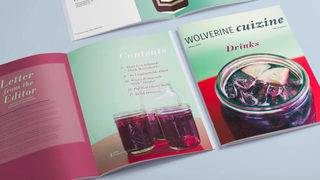 Wolverine CuiZine, Ann Arbor's student-run food magazine, leaves us drooling