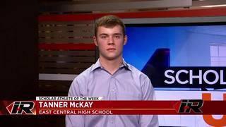 Scholar Athlete: Tanner McKay, East Central High School