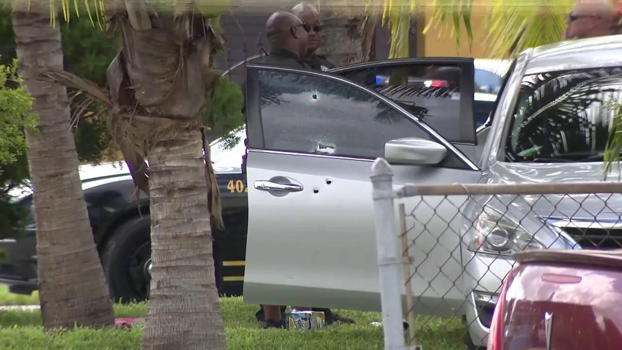 Car shot in Miami Gardens