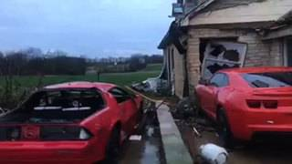 Storms kill four people in Kentucky, Arkansas