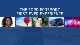 Winner of Ford Ecosport 'First-Ever' contest goes paddleboarding!