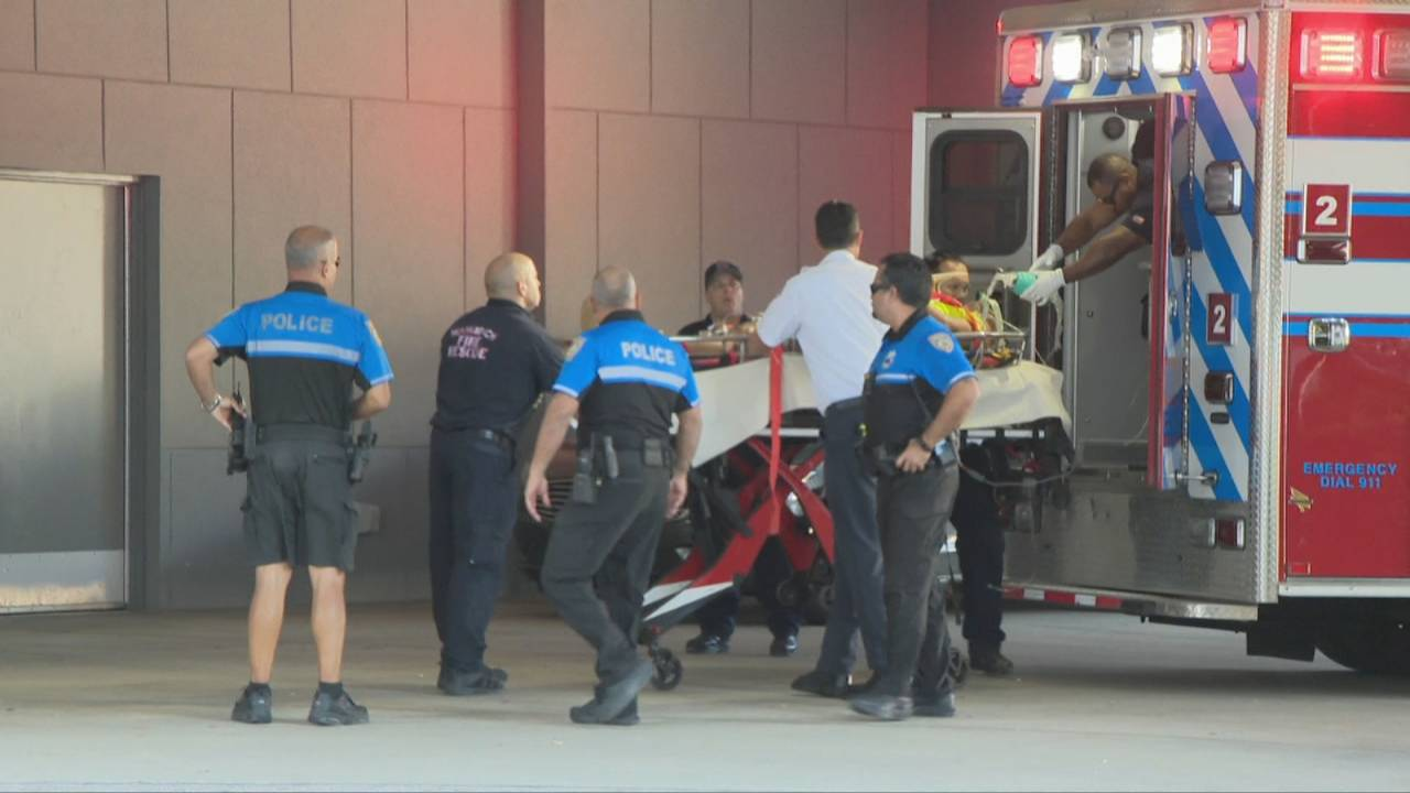 Construction worker impaled in Miami Beach arriving at JMH