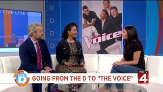 Local singer shares her experience on 'The Voice'