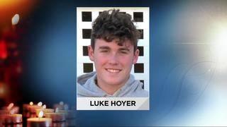 Loved ones attend funeral of Luke Hoyer