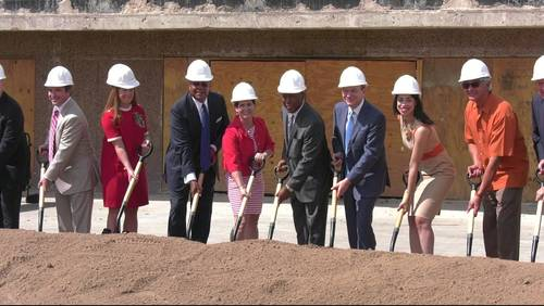 Groundbreaking ceremony held at old Sears building in midtown to transform into 'The Ion'