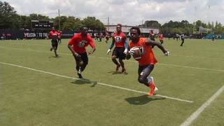 Jaguars host 6th annual 7 on 7 passing challenge