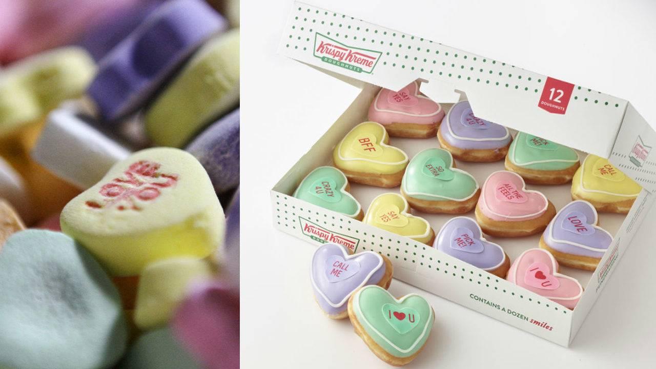 Krispy Kreme Saves Valentines Day With Conversation Donuts