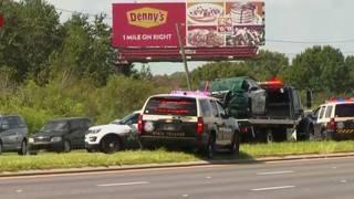 Osceola sheriff inspecting patrol cars after fatal crash