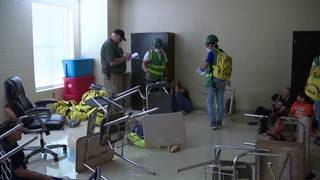 Southside ISD students take part in mock natural disaster