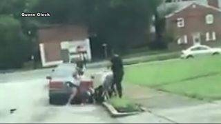 Woman facing felony charge after street brawl caught on camera