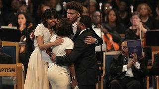 10 moments from Aretha Franklin's funeral in Detroit