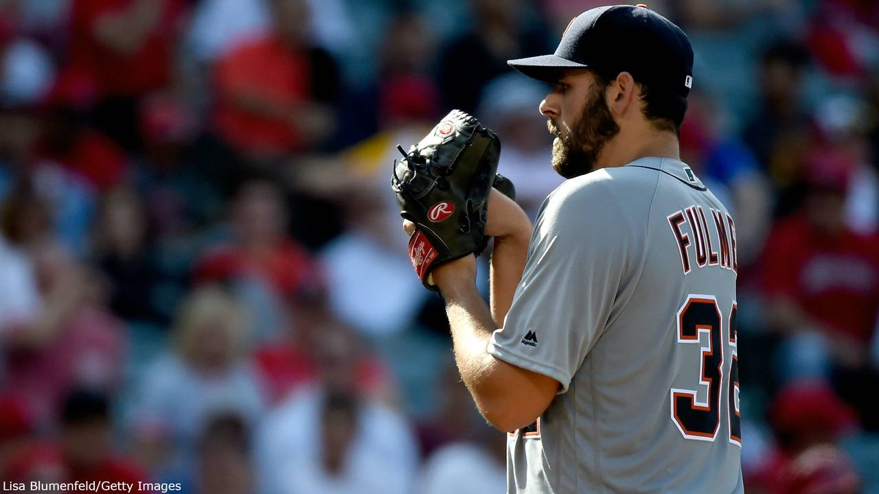 Michael Fulmer Detroit Tigers pitching 2016