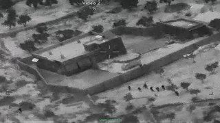 Al-Baghdadi raid images: US troops approaching