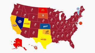In And Out Map Business Insider map claims Texas loves In N Out more than