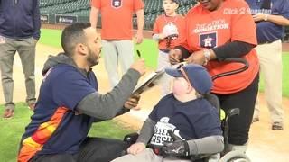 Astros' Correa, Reddick play ball with Miracle League, Shriners Hospital&hellip&#x3b;