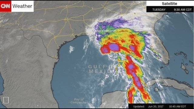 Gulf Coast Preparing For Tropical Storm That Hasn T Quite