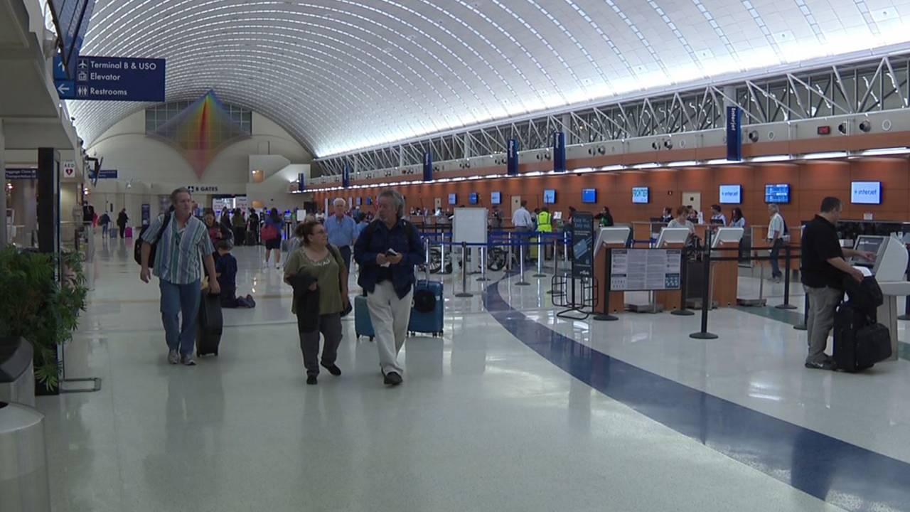 San Antonio International Airport Holds Fiesta Student Art