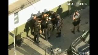 Woman killed inside Trader Joe's during standoff, Los Angeles mayor says