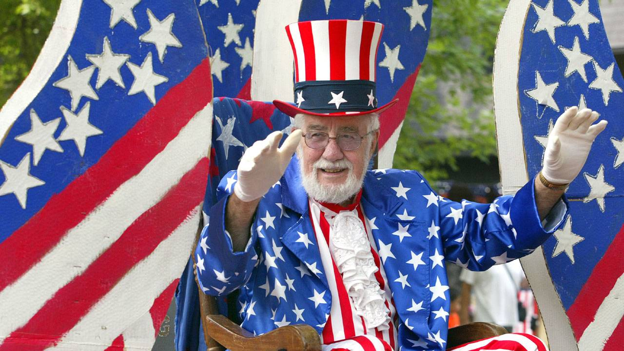 Fourth of July parade, Uncle Sam65022806-75042528