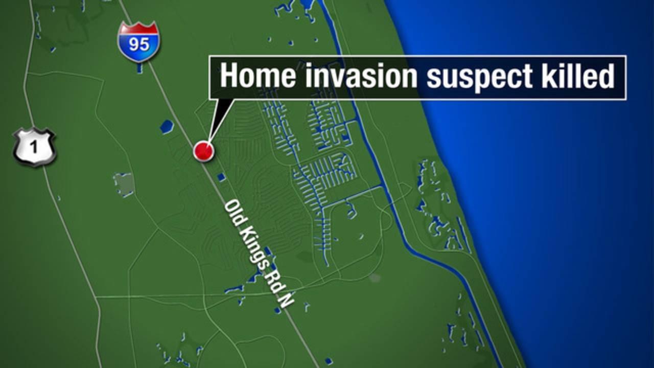 Map - Palm Coast home invasion