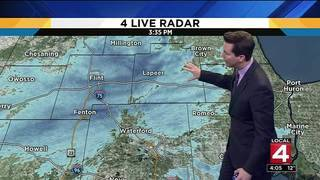 Metro Detroit weather: Temperatures warm up after cold, snowy evening