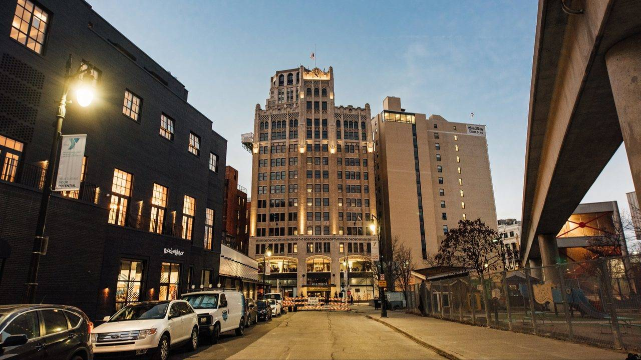 Go Inside Detroit S First Element Hotel At Historic
