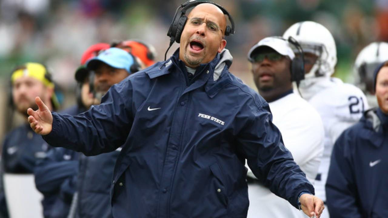 James Franklin cmon man Penn State vs Michigan State 2017