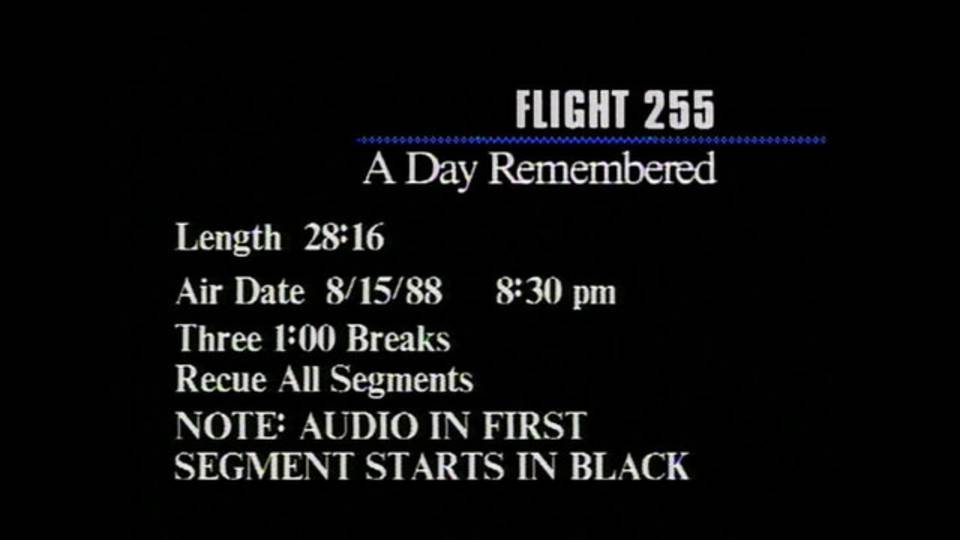 Flight 255 A Day Remembered opening_1471286279405.jpg