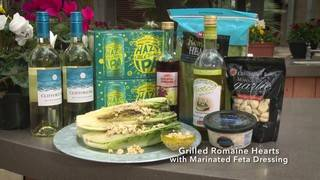 H-E-B Backyard Kitchen: Grilled Romaine Hearts with Marinated Feta Dressing