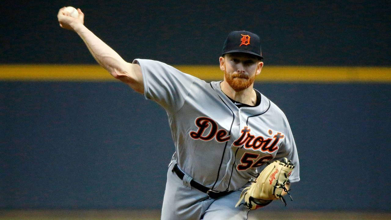 Detroit Tigers pitcher Spencer Turnbull