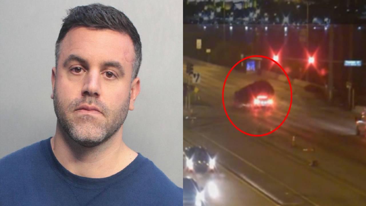 Jose Soto and crash scene
