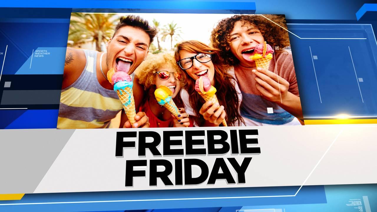 Generic Freebie Friday graphic centered