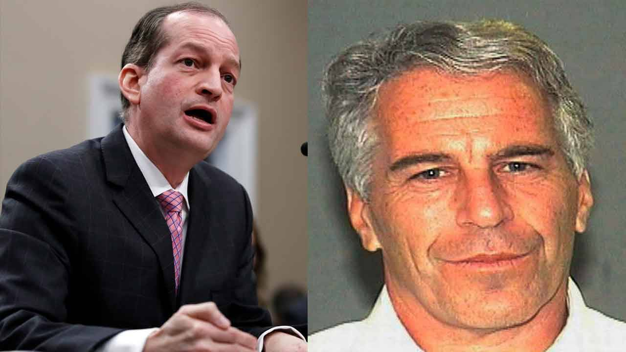 Alexander Acosta and Jeffrey Epstein