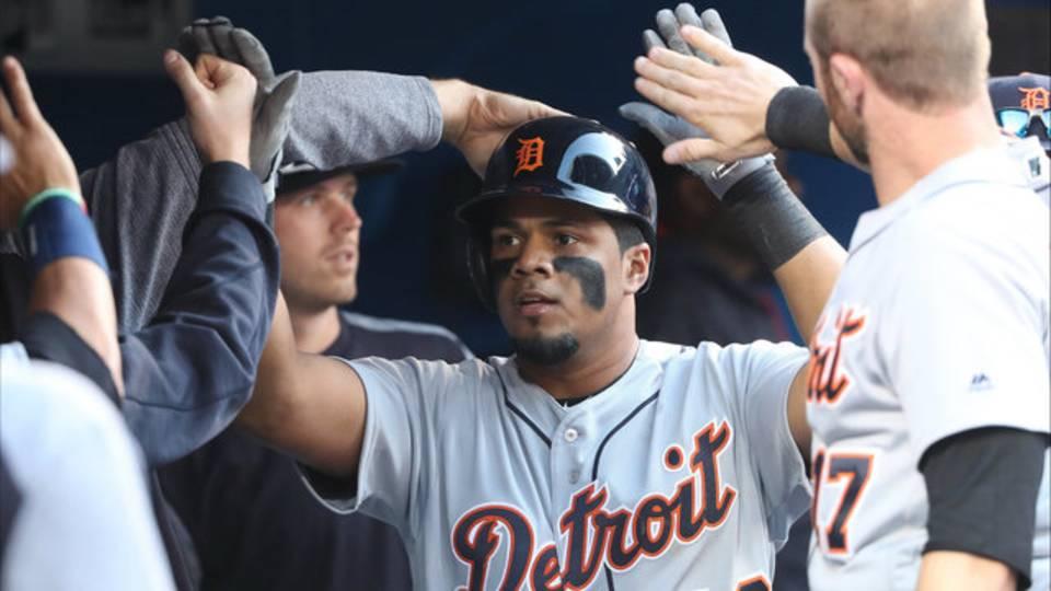 Jeimer Candelario Detroit Tigers vs Blue Jays 2018