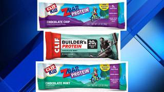 Clif Bars recalled due to possible nuts