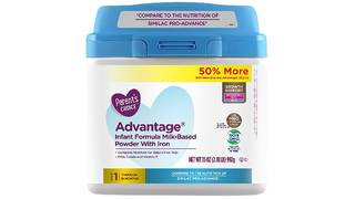 Infant formula sold at Walmart is recalled because of metal