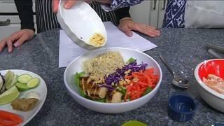 Resolution Kitchen: Thai Chicken Buddah Bowl