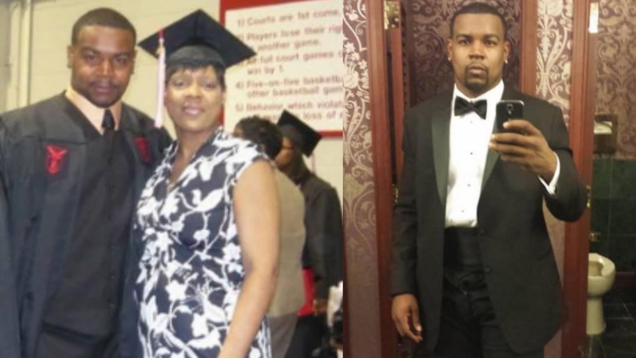 Robert Eddins graduation and tuxedo