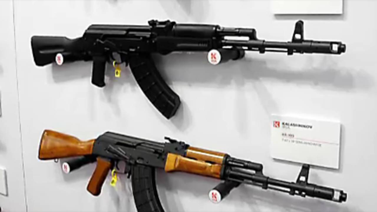 Kalashnikov cranking up AK-47 factory in Florida