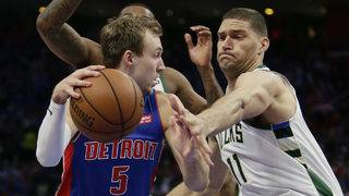 Home court, return of Griffin doesn't help Pistons in 119-103 Game 3&hellip&#x3b;