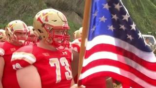 Fans happy to watch VMI football as Florence shifts game