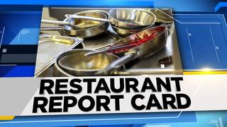 Restaurant Report Card: Where you may want to avoid having dinner