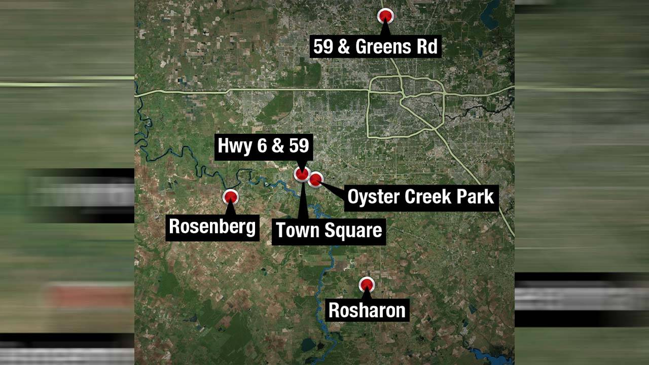 Maleah davis search locations as of 051519