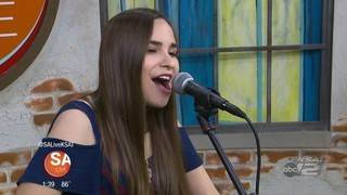 Marcy Grace performs on SA Live ahead of album release