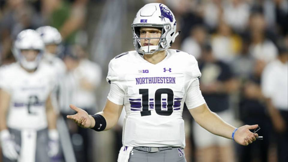 Northwestern football vs Purdue 2018